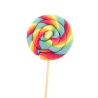 Multi Colored Lollipop Candy
